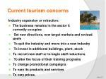 current tourism concerns7