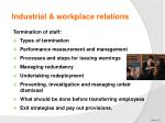 industrial workplace relations2