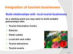 integration of tourism businesses1