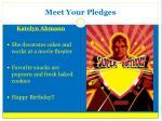 meet your pledges1