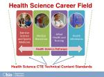 health science pathways