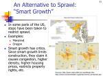 an alternative to sprawl smart growth