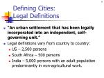 defining cities legal definitions