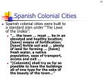 spanish colonial cities