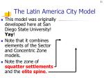 the latin america city model
