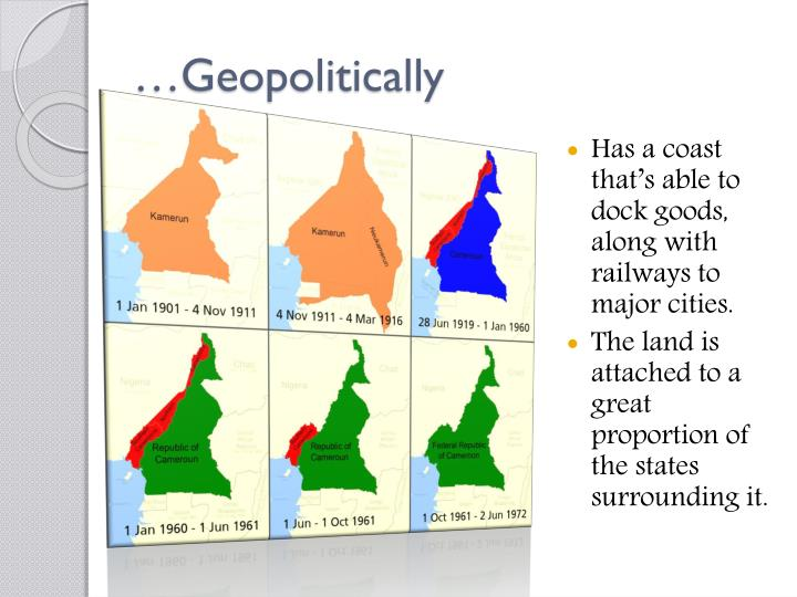 …Geopolitically