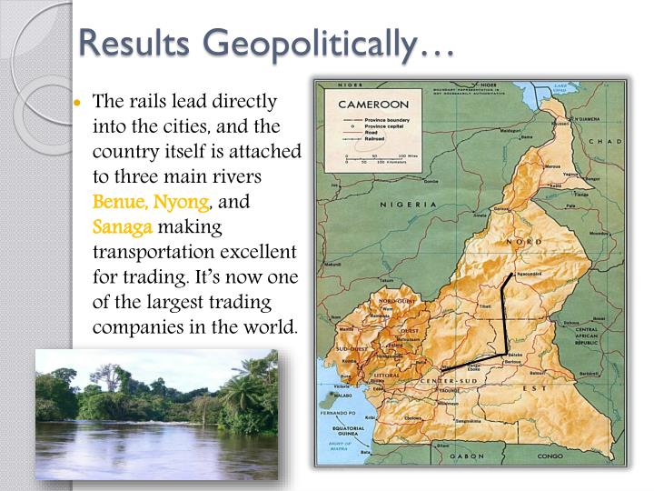 Results Geopolitically…