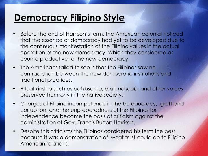 Democracy Filipino Style