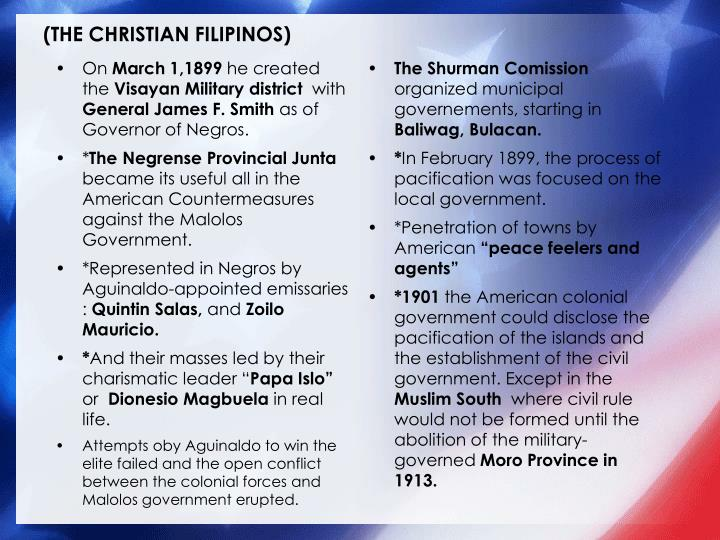 (THE CHRISTIAN FILIPINOS)