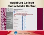 augsburg college social media central