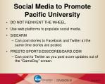 social media to promote pacific university1