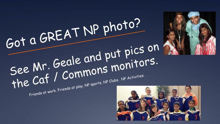Got a GREAT NP photo?