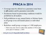 ppaca in 20141