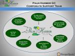 palm harbor gc corporate support team