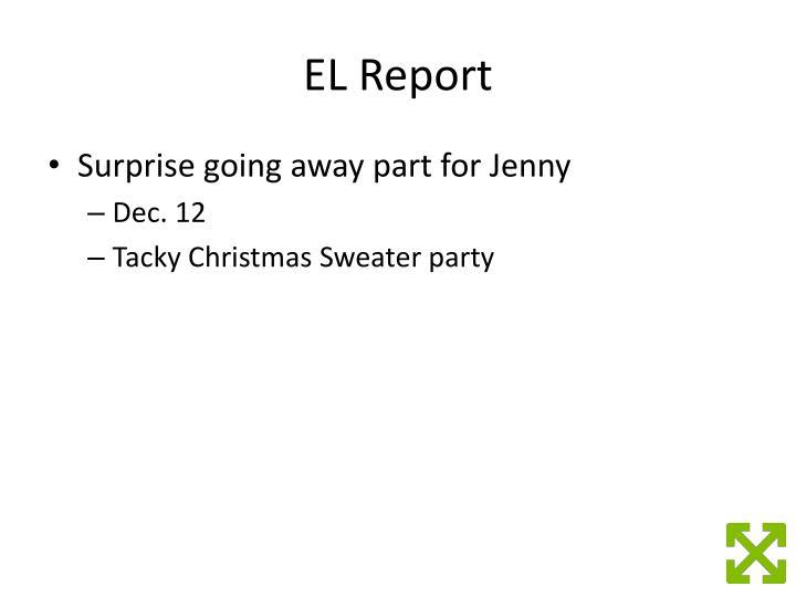 EL Report