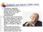 friedrich von hayek 1899 1992