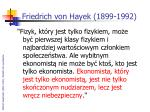 friedrich von hayek 1899 19921