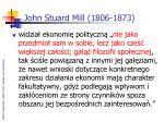 john stuard mill 1806 1873