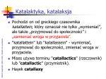 katalaktyka katalaksja