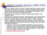 william graham sumner 1840 1910