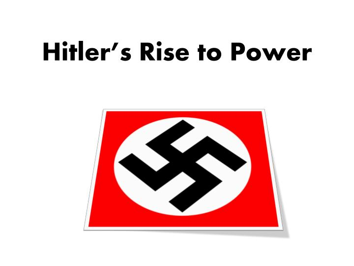 hitler s rise to power personal or Hitler's rise to power hitler's speech fdr's speech 6 year old: depicting europe as mother europe would target the children on a personal level.