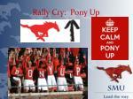 rally cry pony up
