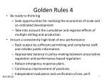 golden rules 4