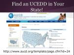 find an ucedd in your state