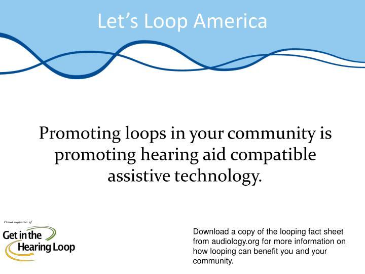 Let's Loop America