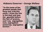 alabama governor george wallace