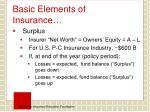 basic elements of insurance2