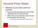 insurance prices rates1