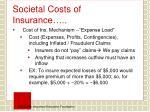 societal costs of insurance1