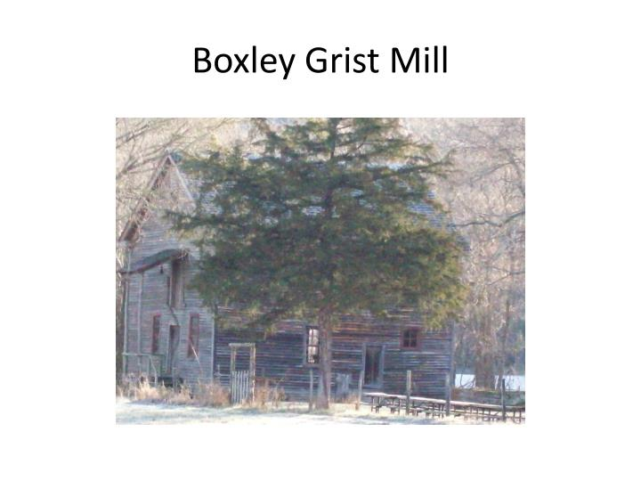 boxley grist mill n.