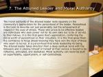 7 the attuned leader and moral authority
