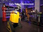 dalu robot restaurant