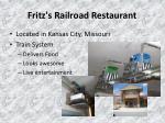 fritz s railroad restaurant