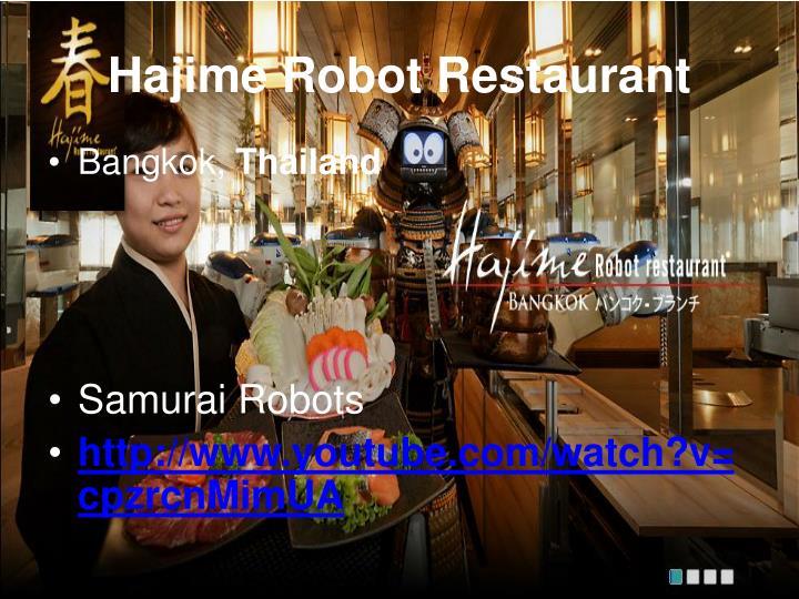 Hajime Robot Restaurant