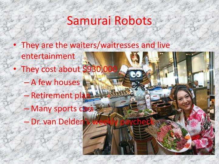 Samurai Robots