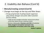 2 usability dan bahasa cont d3