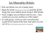 les miserables britain