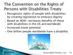 the convention on the rights of persons with disabilities treaty