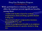drug free workplace program t c a 50 9 101 et seq1