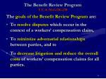 the benefit review program t c a 50 6 236 239