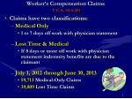 worker s compensation claims t c a 50 6 201