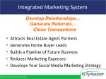 integrated marketing system
