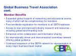 global business travel association cont
