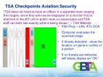 tsa checkpoints aviation security1