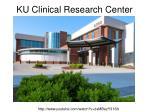 ku clinical research center