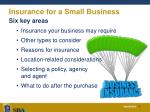 insurance for a small business